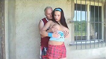 licking movs - Beautiful Teen Fucks Her Daddys Partner