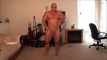 bodybuilder porn, solo model, stretching clips, tight pussies